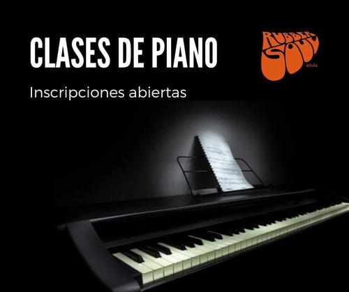 Teclado Y  Piano, Clases