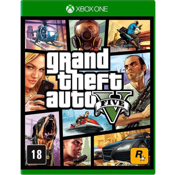 Jogo Gta V Premium Edition (novo) Xbox One