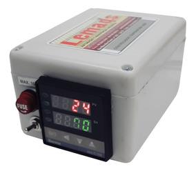 Controlador De Temperatura Digital Compacto Montado 10a