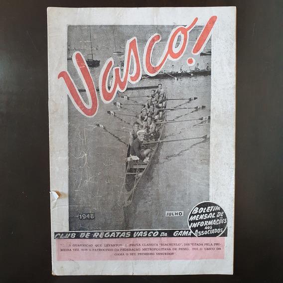 Revista Oficial Futebol Vasco Da Gama 1948 Raridade