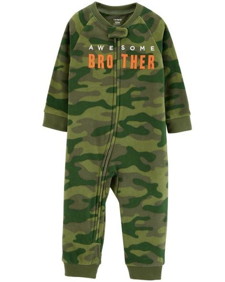 Jumpsuit Carters Nuevo Awesome Brother Talla 12 Meses