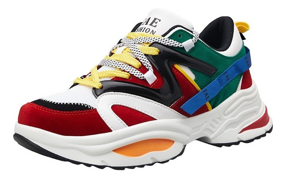 Tenis Thunder Colors Original By L+n Sneaker Casual Unisex