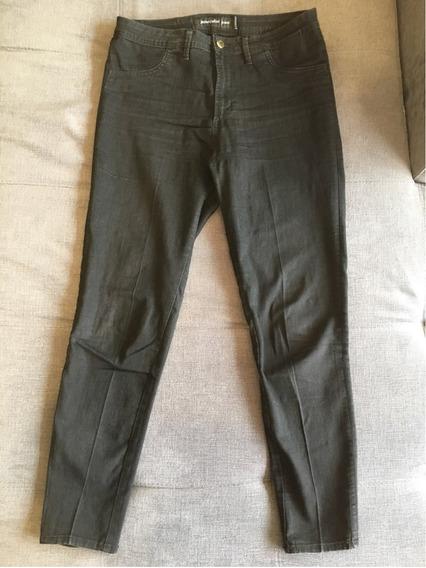 Hermoso Pantalón Negro Jazmín Chebar T. 28/ 44 Elastizado