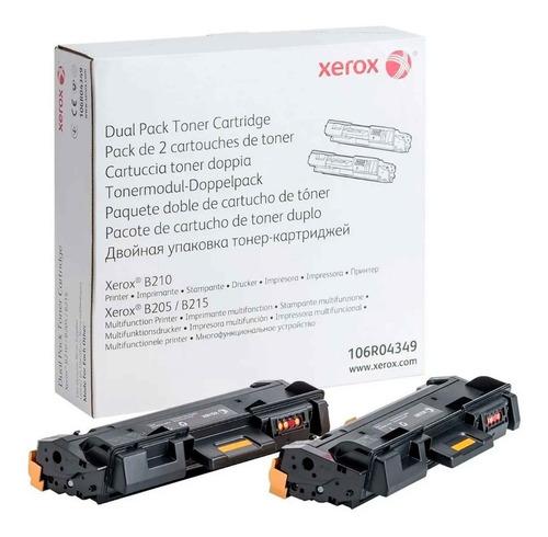 Imagen 1 de 2 de Toner Xerox Negro 106r04349 B205 B210 B215 6,000 Paginas