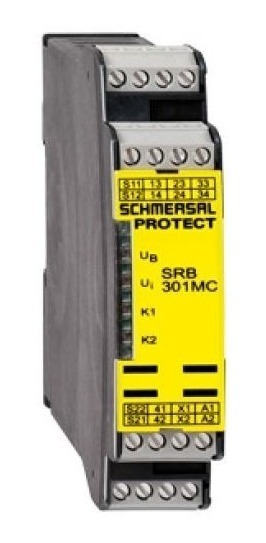Kit 10 Relés De Segurança Srb 301 Mc 24v Ace Schmersal