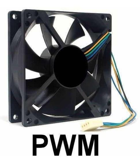 Fan 92x38mm 9cm 90mm Rolamento 12w 0.90a 12v 7900rpm Pwm