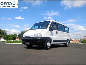 Jumper Minibus -2013- Branca, 16 Lug, Ú Dono, Baixo Km ! Top