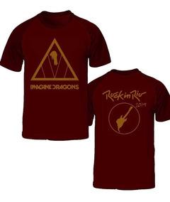 Camiseta Imagine Dragons Rock In Rio 2019