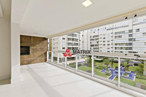 Apartamento Com 3 Dormitórios À Venda, 158 M² Por R$ 1.750.000,00 - Água Verde - Curitiba/pr - Ap6170