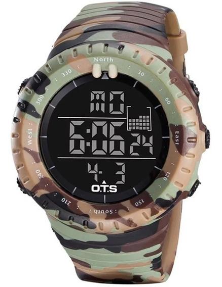 Relógios Ots Led Militar Camuflagem Do Exército