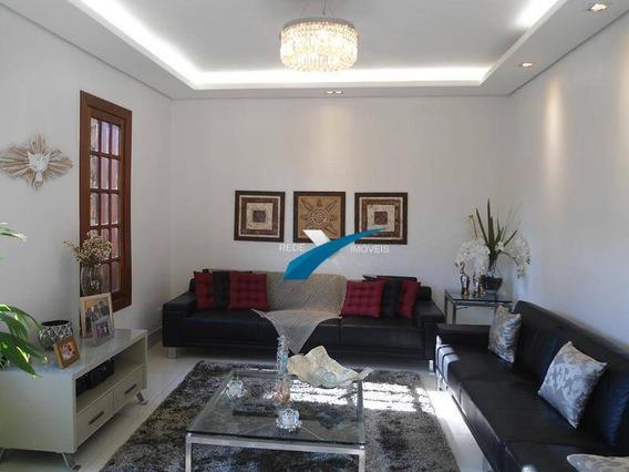Casa De 4 Quartos, Suíte E 4 Vagas A Venda No Bairro Castelo Bh - Ca0615