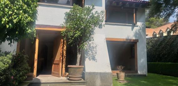 Casa En Renta, Ahuehuetes Sur, Bosque De Las Lomas.