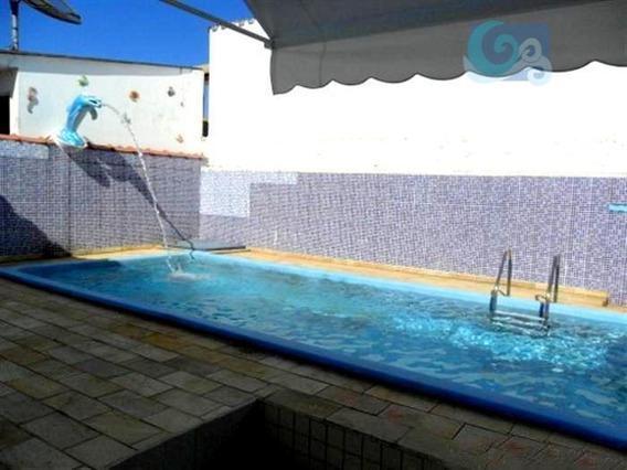 Casa À Venda No Condomínio Jardim Albamar, Praia De Pernambuco, Guarujá - Ca0551