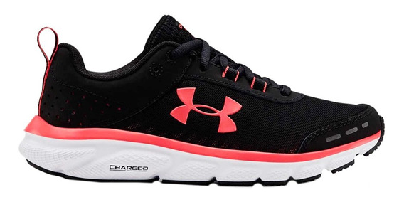 Zapatillas Under Armour Ua W Charged Assert 8 Mujer Ng/co