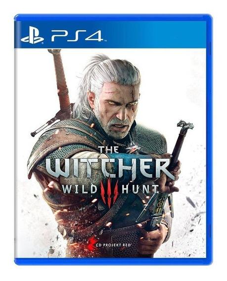 The Witcher 3 Wild Hunt Ps4 Mídia Física Pronta Entrega