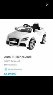 Auto Audi Niño ...nuevo
