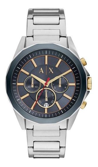 Relógio Armani Exchange Masculino Classic Prata - Ax2614/1kn