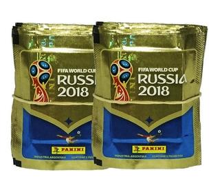 Figuritas Mundial 2018 Rusia Panini Pack X 50 Sobres Stock