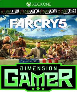 Far Cry 5 - Xbox One - No Codigo - Off-line
