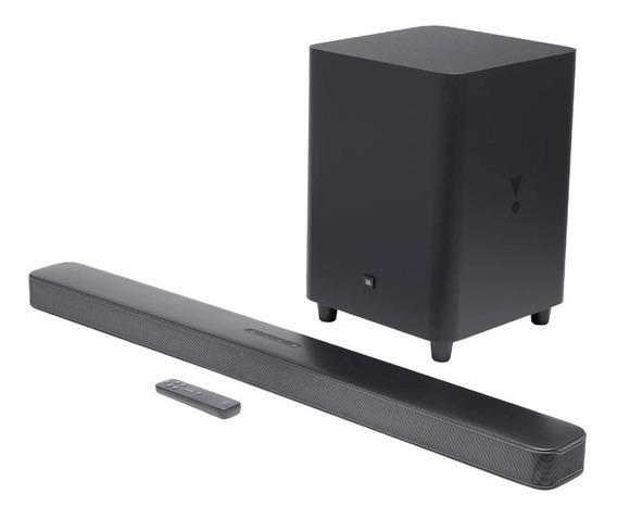 Soundbar Jbl Com 5.1 Canais E 325w - Jbl Bar 5.1 Surround