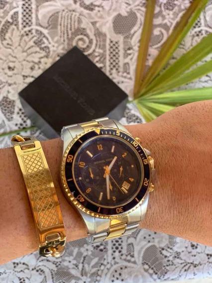 Relógio Michael Kors Original + Pulseira