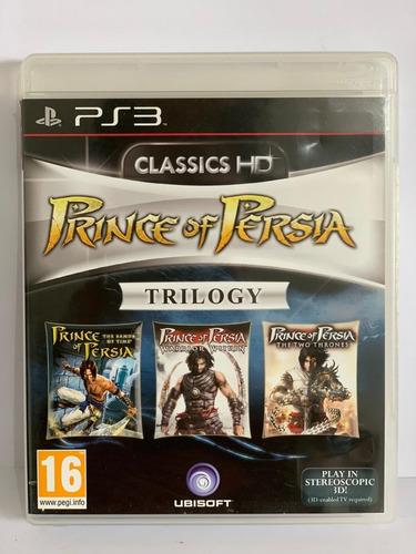 Jogo Seminovo Prince Of Persia: Classic Trilogy Hd Ps3 !!!