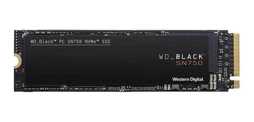 Disco sólido interno Western Digital WD Black WDS250G3X0C 250GB preto