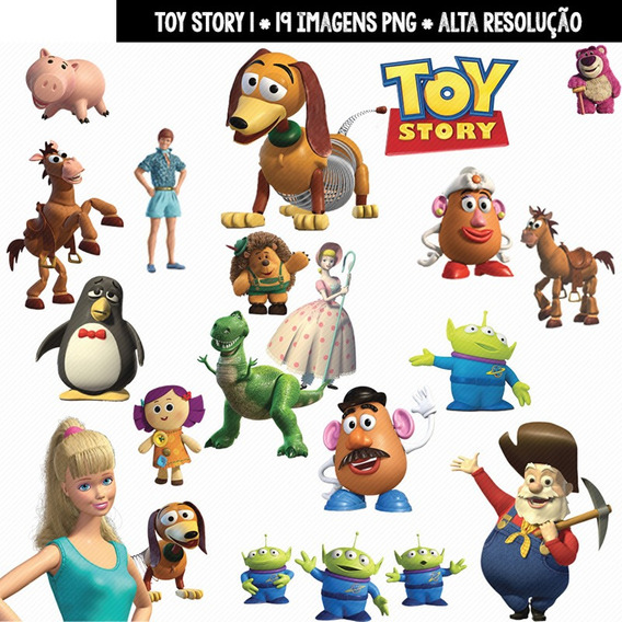 Kit Imprimible Toy Story 44 Imagenes Clipart