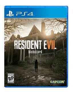 Resident Evil 7 Biohazard Ps4 ¡ Totalmente Nuevo Y Sellado!