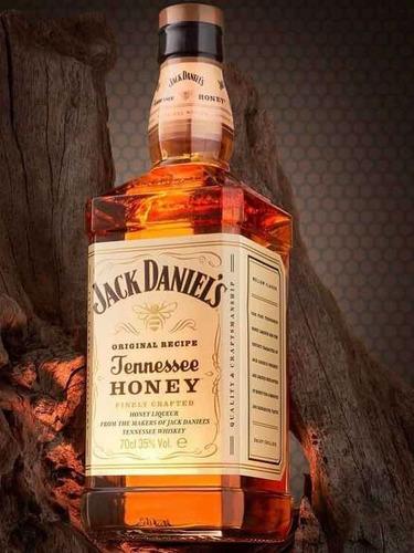 Imagem 1 de 2 de Whiskey Jack Daniels Honey 1lt