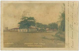 Raro Cartão Postal Maranhão Fazenda Santa Cruz Barreirinhas