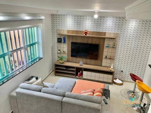Sobrado Com 2 Dormitórios À Venda, 75 M² Por R$ 340.000,00 - Jardim Coimbra - São Paulo/sp - So0988