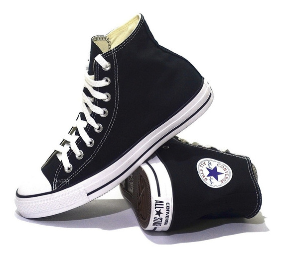 Zapatillas Converse Chuck Taylor All Star Hi Black 157197