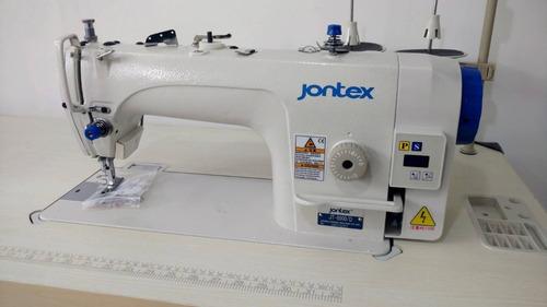 Imagen 1 de 2 de Máquina Recta Jontex Con Cortador De Hilo Automático