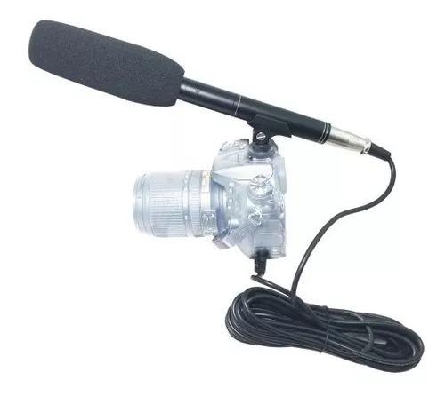 Imagen 1 de 2 de Microfono Para Camara Canon