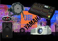 Alquiler De Proyectores - Pantallas Audio Luces