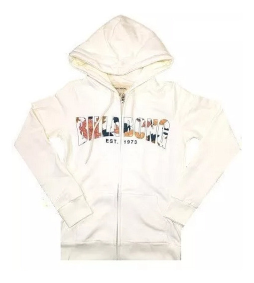 Campera Canguro Billabong Sprinter Luxe Zip Mujer