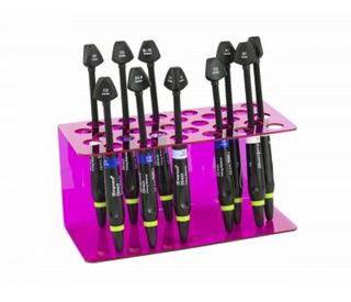 Suporte De Seringa Agir 30 Cavidades Simples Cores 3 Unidade