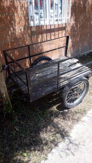 Remolque Para Carro O Moto Mide 1.40 De Largo