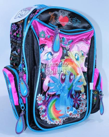 Mochila Jardin My Lillte Pequeño Pony Original 12´ 68612