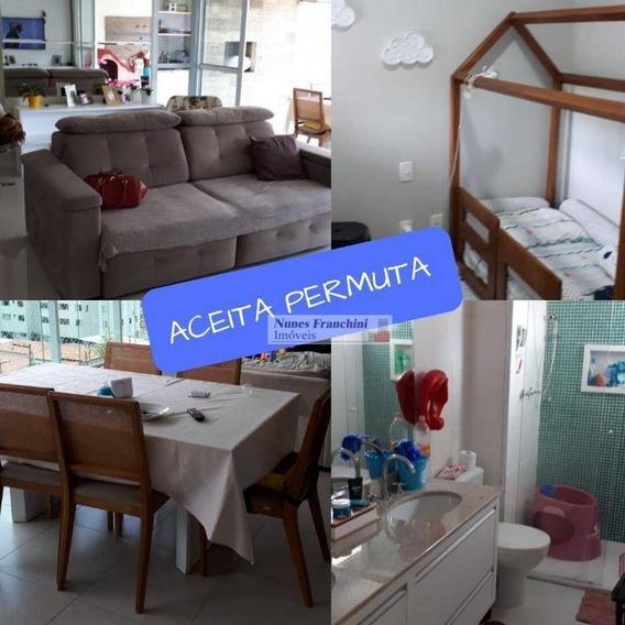 Santana Zn/sp - Apartamento 171 M², 3 Suítes, 2 Vagas - R$ 1.400.000,00 - Ap7304