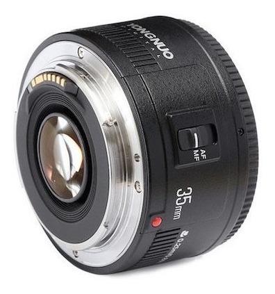 Lente 35mm F2 Yongnuo Para Canon