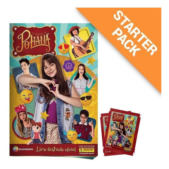 Starter Pack As Aventuras De Poliana - Álbum + 20 Envelopes