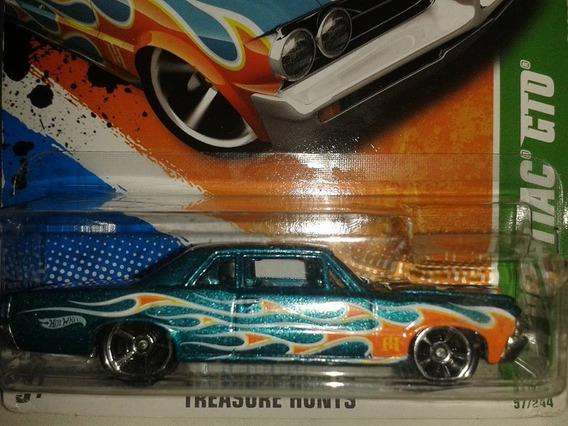 Miniatura T-hunt Hot Wheels Pontiac Gto Novo !!!