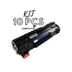 Kit 10 Peças Toner Compatível Cf283a Cf283 283a 283 83a