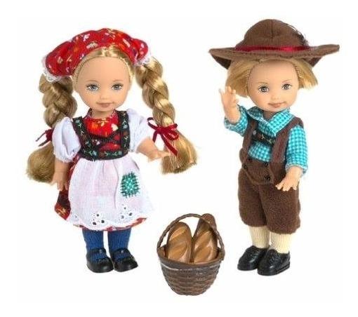 Barbie Collector Kelly & Tommy Hansel & Gretel João E Maria