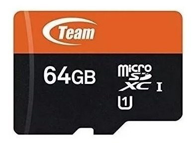 Memoria Micro Sd Team Group Tlf/ R4 64 Gb Clase 10 Nueva