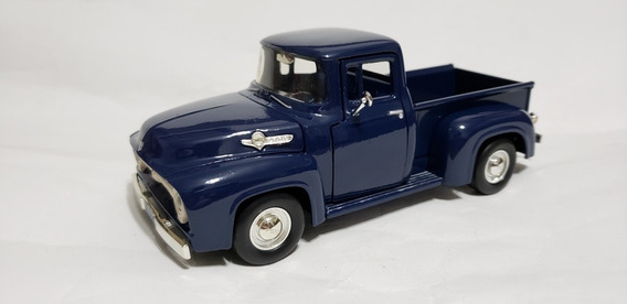 Miniatura Da Ford Pick-up F-100 - 1956 - 1:24