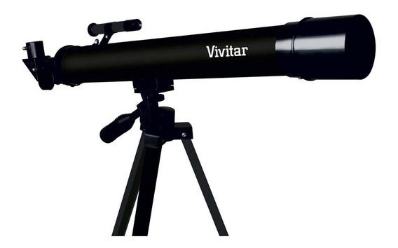 Telescópio Vivitar Vivtel50700 Refração 210x/420x Tripé