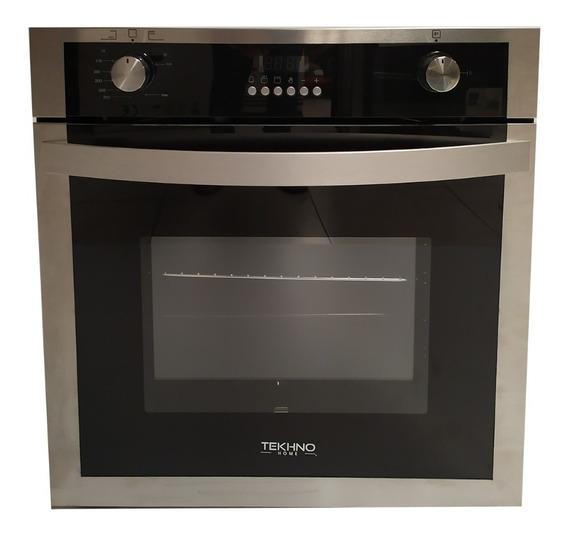 Horno Tekhno-home De 60 Cm Inox Con Cristal 100% Nuevo